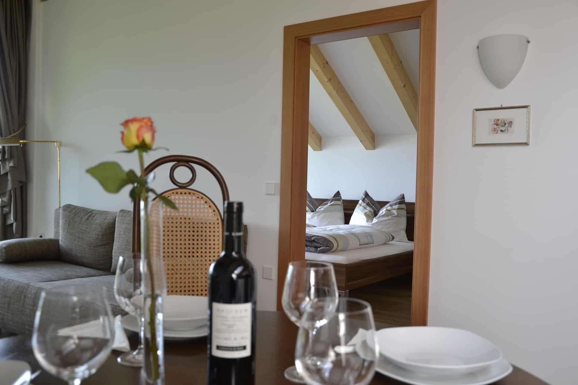 Ferienwohnung im Überetsch in Südtirol
